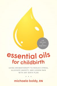 Essential Oils for Childbirth Book Cover